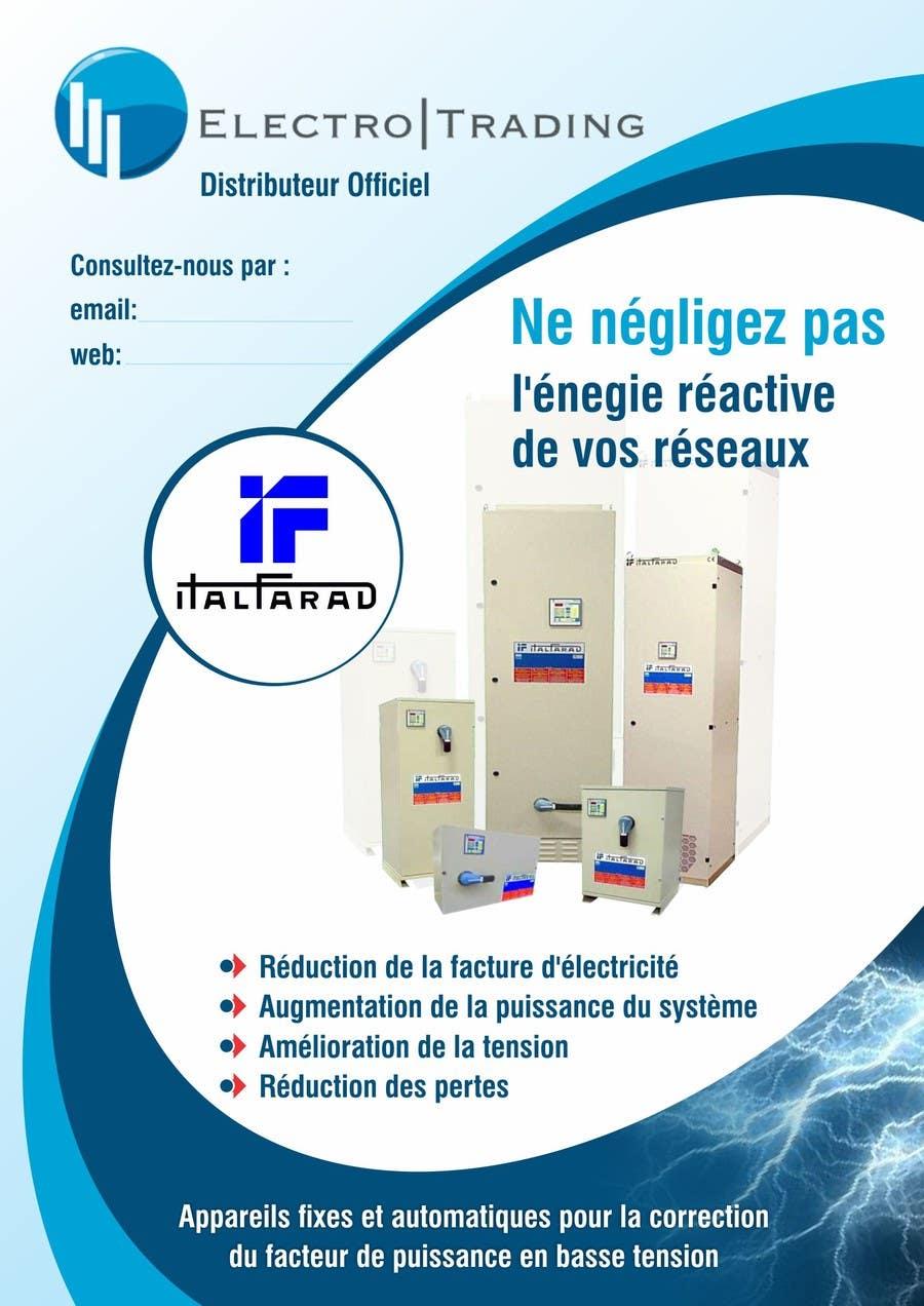 #43 for Concevez un flyer for ELECTRO TRADING - ITALFARAD by ezesol