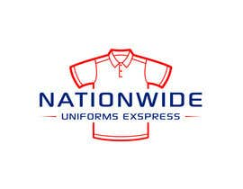 #71 para Design a Logo for Nationwide Uniforms Express por edycahyono