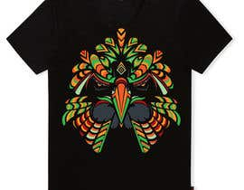 #18 for Design an Animal for a Black T-Shirt af mohinimenon