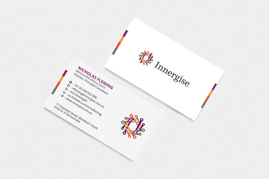 Entry #251 by sridharsilver for Design business cards for Innergise ...