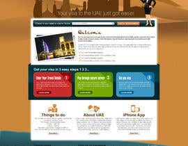 #56 untuk Build a Website for dubaivisas.co.uk oleh Azavedo