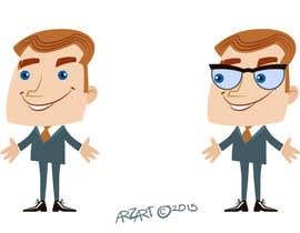 #42 untuk Create a funny character in vector oleh arzart