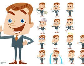 #49 untuk Create a funny character in vector oleh arzart