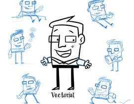 #8 for Create a funny character in vector af llusviciana