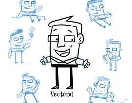 #8 untuk Create a funny character in vector oleh llusviciana
