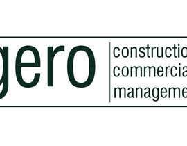 Nro 28 kilpailuun Design a Logo for Gero Construction Commercial Management käyttäjältä Dckhan