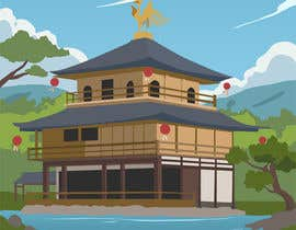 #20 para Illustrate Something for Golden Pavillion Temple (Japan) por CGCactus
