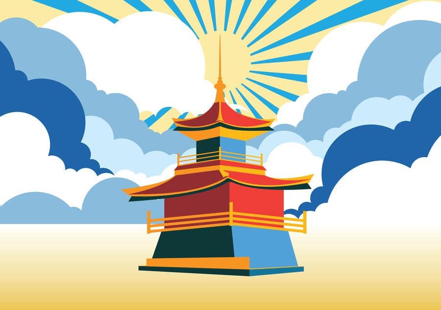 Konkurrenceindlæg #8 for Illustrate Something for Golden Pavillion Temple (Japan)