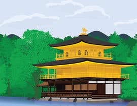 #25 for Illustrate Something for Golden Pavillion Temple (Japan) by harool