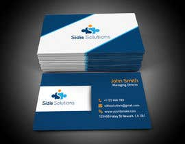 #5 untuk Design some Business Cards for Sidis Solutions oleh siambd014