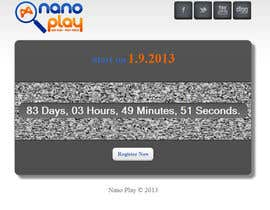 #14 untuk Build a pre-launch website for nanoplay.eu oleh tanseercena