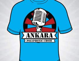 #36 for Design a T-Shirt for Polyphonic Choir af rizalarsad
