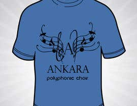 #3 for Design a T-Shirt for Polyphonic Choir af SilvinaBrough