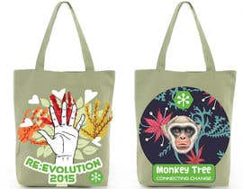#9 untuk Design Graphic for a Bag (back and front) oleh SilvinaBrough