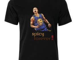 #5 untuk Stephen Curry NBA/Spice for making food creative design oleh hussainanima
