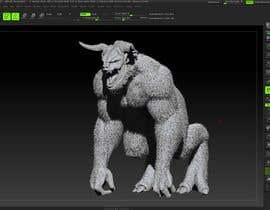KeithSoertsz tarafından Create a Yeti Monster wearing Ice Armor için no 10