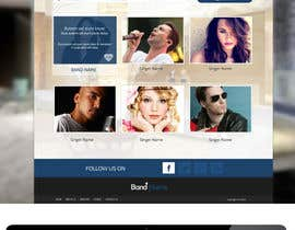 nº 22 pour Design a Website for Music Band introduction site par SadunKodagoda