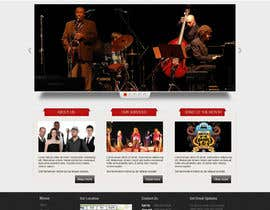 #13 para Design a Website for Music Band introduction site por iNoesis
