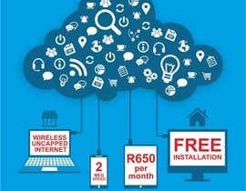 Nro 51 kilpailuun Design an Advertisement for Wireless Internet 2 käyttäjältä creazinedesign