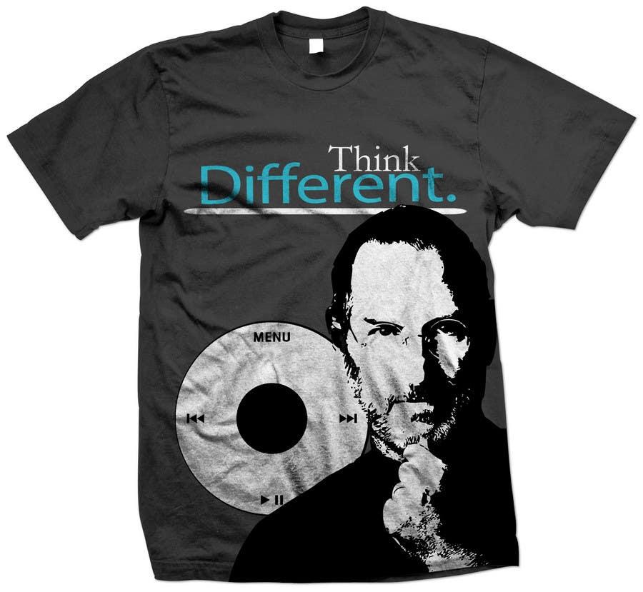 Penyertaan Peraduan #                                        38                                      untuk                                         T-shirt Design for IndoPotLuck - Steve Jobs Tribute
