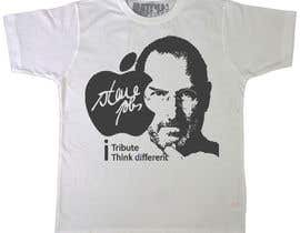 #78 para T-shirt Design for IndoPotLuck - Steve Jobs Tribute de raamsankar
