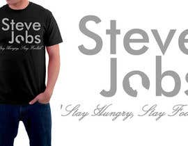 #60 para T-shirt Design for IndoPotLuck - Steve Jobs Tribute por herick05
