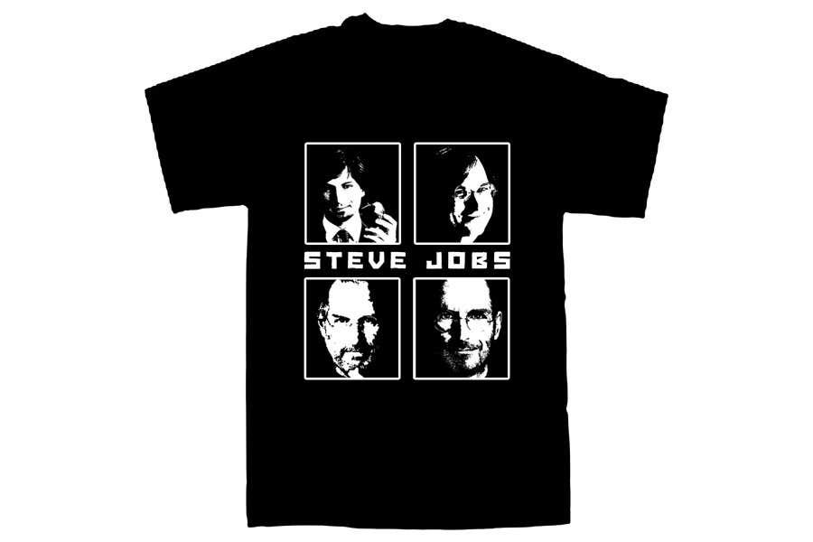 Penyertaan Peraduan #                                        39                                      untuk                                         T-shirt Design for IndoPotLuck - Steve Jobs Tribute
