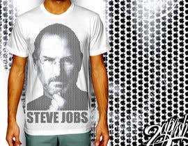 #22 para T-shirt Design for IndoPotLuck - Steve Jobs Tribute de firmanzapfish