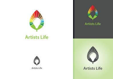 #128 untuk Design a Logo for Artists Life oleh affineer