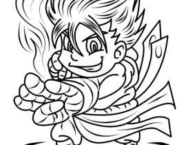 #12 for Coloring Book ( super hero of my dreams ) af marstyson76