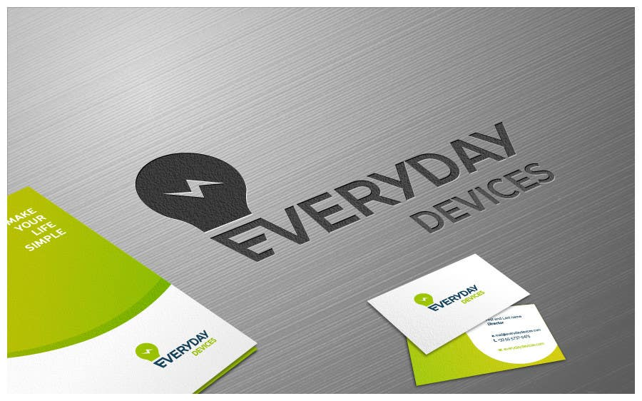 Penyertaan Peraduan #118 untuk Develop a Corporate Identity for Everyday Devices