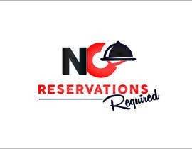 "#24 untuk Design a Logo for ""No Reservations Required"" oleh gorankasuba"