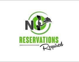 "#38 untuk Design a Logo for ""No Reservations Required"" oleh gorankasuba"