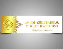 #35 untuk Design a outdoor sign board for a gold jwellery shop oleh ArtisticLab