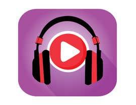 Nro 54 kilpailuun Design a Logo for a Music Player app käyttäjältä saif95