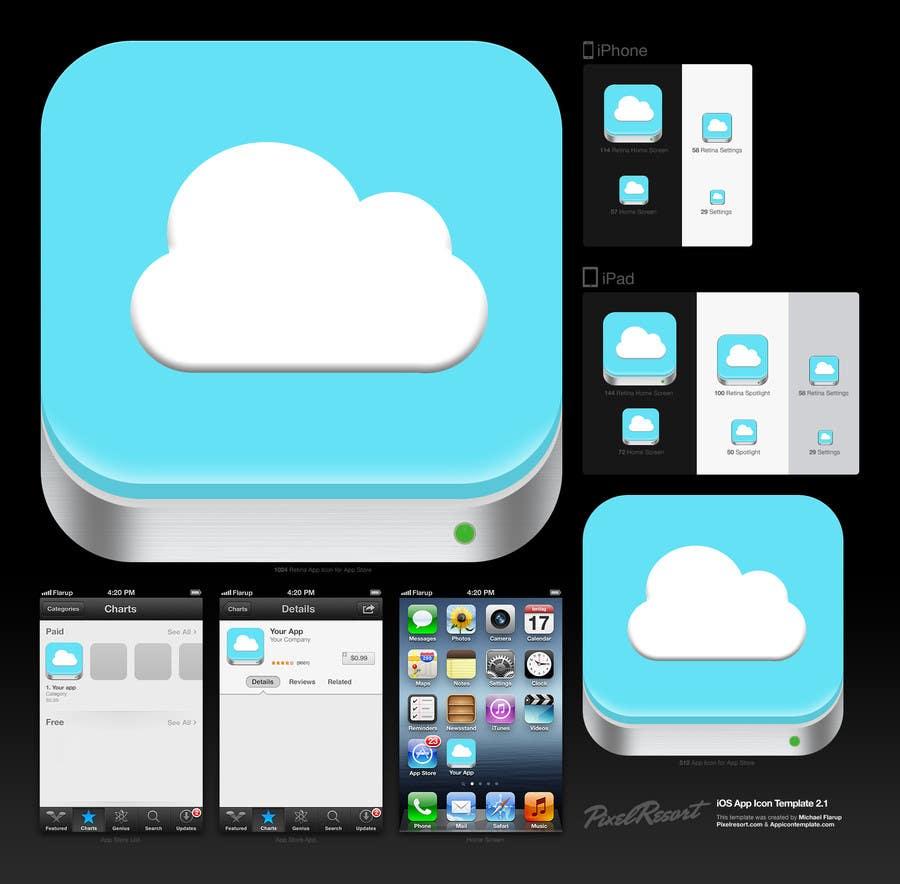 Bài tham dự cuộc thi #                                        3                                      cho                                         Design new icon for existing iOS app