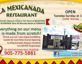 #2 untuk Design an Advertisement for Mexican Restaurant oleh LampangITPlus