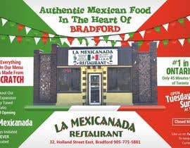 mohitjaved tarafından Design an Advertisement for Mexican Restaurant için no 3