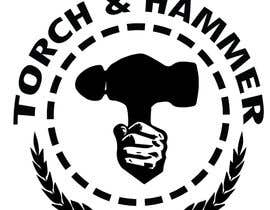 #7 untuk Design a Logo for Torch and Hammer oleh Bugbeeb