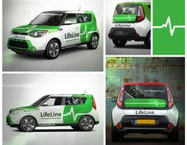 #14 untuk Design wrap for our mobile solution car, phone company oleh elgu