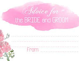 #13 cho Design some Stationery for wedding advice cards bởi ancadc