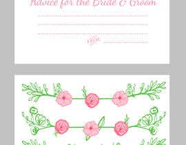 #23 cho Design some Stationery for wedding advice cards bởi ancadc