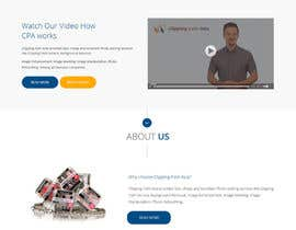 #5 for Design a Website Mockup for clippingpathasia.com by syrwebdevelopmen