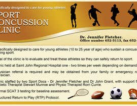 #11 for Design a Flyer for Sports Concussion Clinic by arvydasbutautas