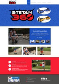 #20 untuk Design a Website Mockup for www.stetan360.com.au oleh kreativeminds