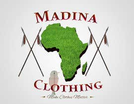 Nro 8 kilpailuun Design a Logo for Madina Clothing a Charitable Company in the UK Supporting The Gambia käyttäjältä designsunique