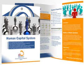 #28 untuk Re-Design of Human Capital System Brochure oleh xham24