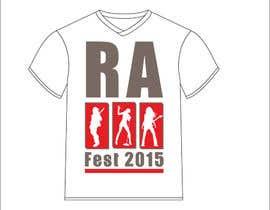 Nro 14 kilpailuun RA Fest Logo käyttäjältä rahulwhitecanvas