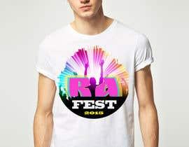 Nro 9 kilpailuun RA Fest Logo käyttäjältä oshaparenko