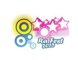 Nro 13 kilpailuun RA Fest Logo käyttäjältä MadaSociety